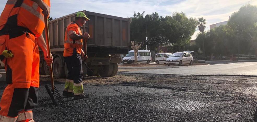 El tráfico rodado en la calle Instinción de Almería se restablecerá la próxima semana