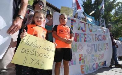 Los alumnos del colegio rural de Torvizcón regresan a las aulas tras dos semanas de huelga