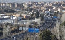 Aparece un herido de bala en la Circunvalación de Granada y buscan a los dos vehículos implicados
