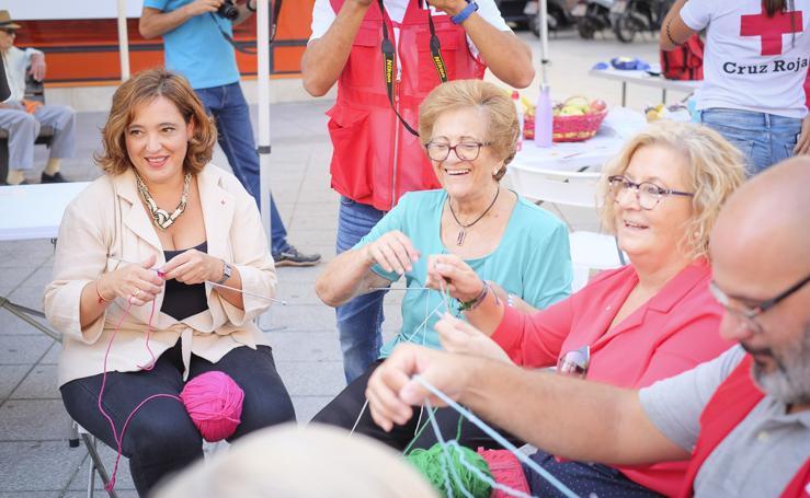 Cruz Roja celebra en Motril su tradicional 'Día de la Banderita'