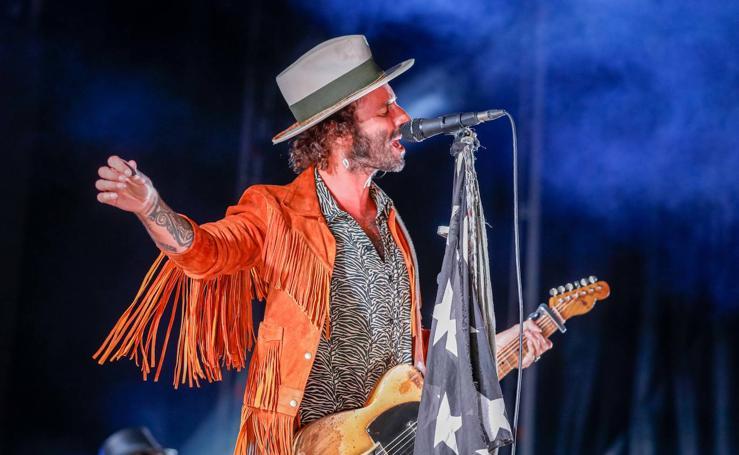 Así fue el concierto de Leiva en Granada