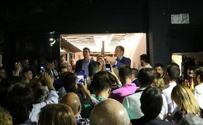 Javier Ortega Smith congrega a más de 100 personas en Jaén