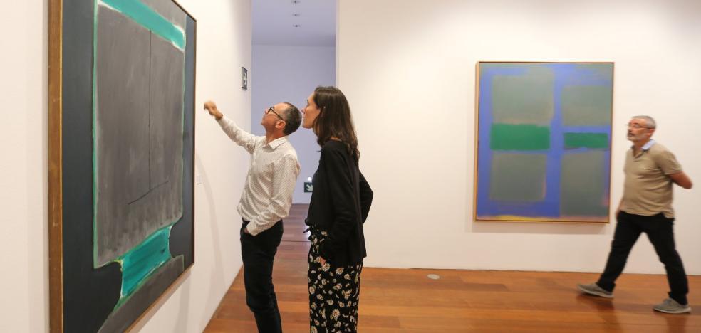 Guerrero y Vicente o la vida paralela de dos genios del expresionismo abstracto, en Granada