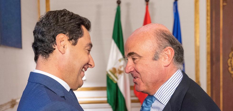 Moreno presiona a Sánchez sobre la financiación y le llama «trilero»