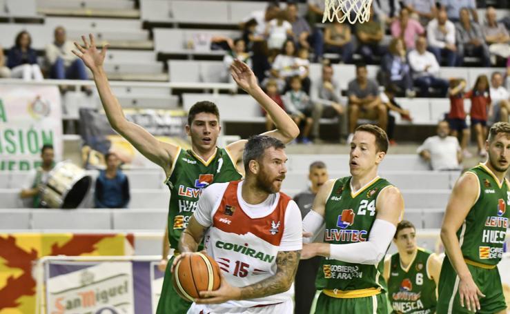 Así fue el partido del Levitec Huesca-Covirán Granada
