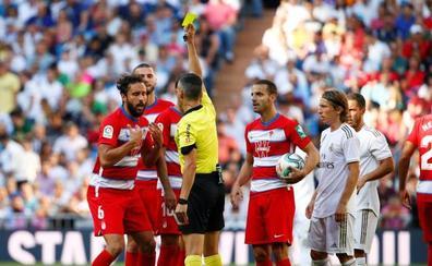 Germán Sánchez no jugará ante el Osasuna al ver la quinta amarilla