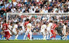 Duarte metió el miedo al Madrid en el cuerpo con el segundo gol