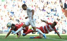 Final: el Granada cae en el Bernabéu