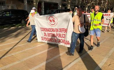 Último tramo por la provincia de la Marcha de los Pensionistas
