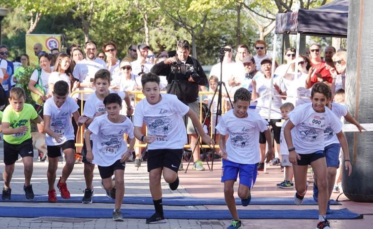 Los Pequeños Héroes de Granada visibilizan la lucha contra el cáncer infantil