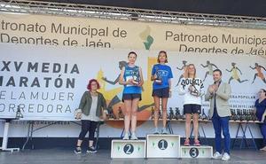 Miguel Ángel Ruiz y Lourdes González vencen en la Media Maratón de Jaén
