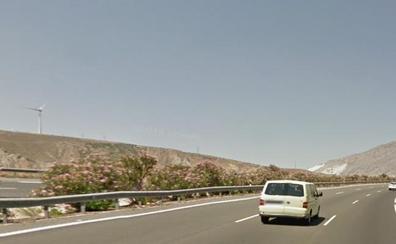 Muere un motorista en un accidente en la A-44 en el Valle de Lecrín