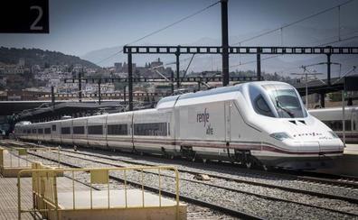 Una avería corta el tráfico del AVE entre Granada y Antequera y afecta a seis trenes de la línea con Madrid