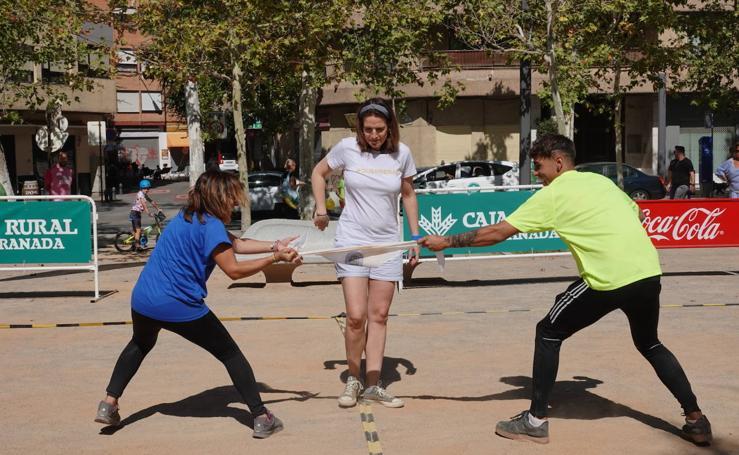 El Zaidín gana los primeros 'Juegos de Placeta' de Granada