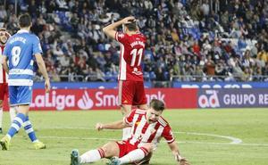 El Almería se contenta con un punto en Riazor