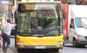 Desconvocan 'in extremis' la huelga para la Feria en Autobuses Castillo