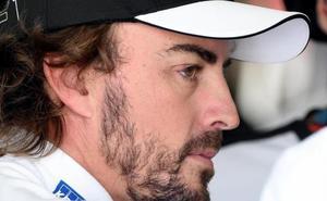 Alonso abandona tras sufrir un accidente