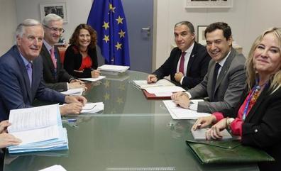 La Comisión Europea transmite «sensibilidad» por los efectos del 'Brexit' en Andalucía minutos antes de reunirse con Reino Unido