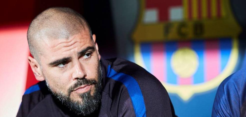 El Barça fulmina a Víctor Valdés como entrenador del juvenil A