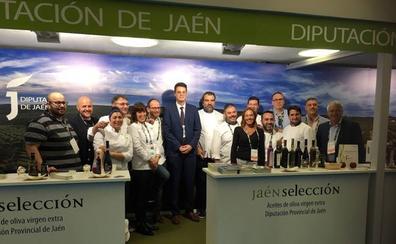 Los aceites Jaén Selección 2019, abanderados de la cocina jienense en San Sebastián Gastronómika