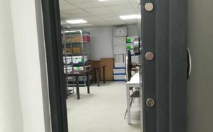 La cámara acorazada de la UGR que escondió los exámenes de selectividad