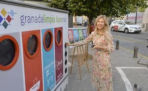 Un ecoparque móvil recogerá residuos en los barrios históricos de Granada