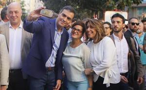 Pedro Sánchez abre hoy la precampaña en Granada junto a Susana Díaz