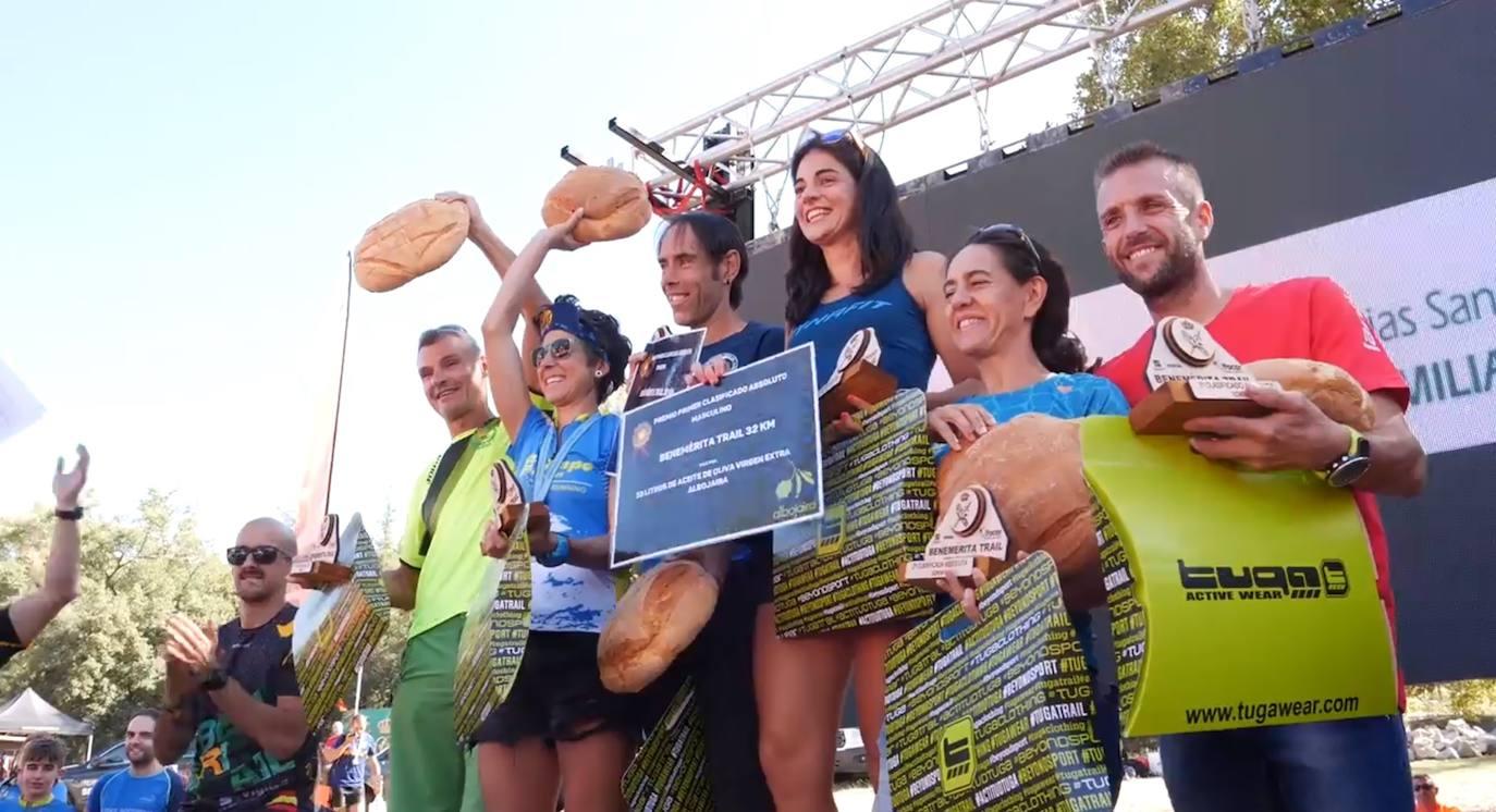 Iván Ortiz y Sofía García se imponen en la IV Benemérita Trail