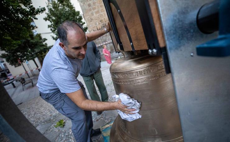 El Realejo recupera las campanas de Santo Domingo