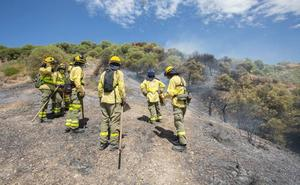 Bomberos denuncian el desmantelamiento del Infoca cuando aún hace calor