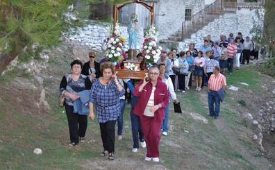 La imagen de la Virgen del Pilar será procesionada por los términos de Lanjarón y Órgiva en la zona de 'La Mojonera'