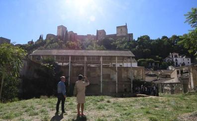 El hospital a los pies de la Alhambra