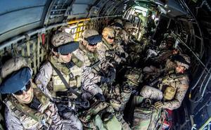 Fuerzas de reacción de la OTAN, en aguas de Almería, mar de Alborán y Cádiz