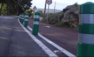 La carretera española que tiene 120 señales y 13 badenes en solo un kilómetro