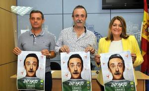 La Vera Cruz organiza la obra 'Infarto' de Santi Rodríguez
