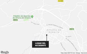 Fallece una mujer tras ser atropellada por su propio vehículo cuando hacía un reparto en Alhama