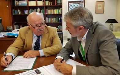 La Junta promete que las obras del hospital de la Alpujarra se retomarán en 2021