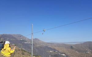 A disposición judicial dos personas por el incendio forestal en Ítrabo