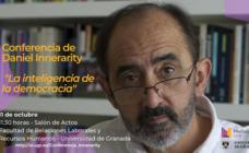 Medialab UGR organiza la conferencia de Daniel Innerarity 'La inteligencia de la democracia'