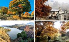 10 rutas senderistas otoñales por una Granada multicolor