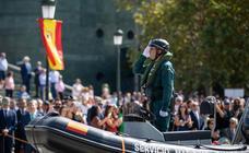 Todas las imágenes de la celebración de la Guardia Civil por el día de su patrona