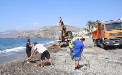 La Costa acabará de limpiar los restos del temporal con ayudas estatales