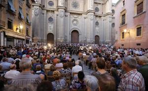 El concierto de Dellafuente y Raimundo Amador en Pasiegas obliga a posponer un recital organizado en la Catedral