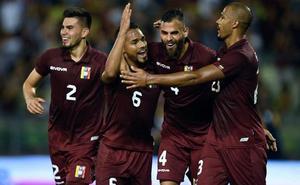 Herrera y Machís, goleadores en la victoria de la 'Vinotinto'