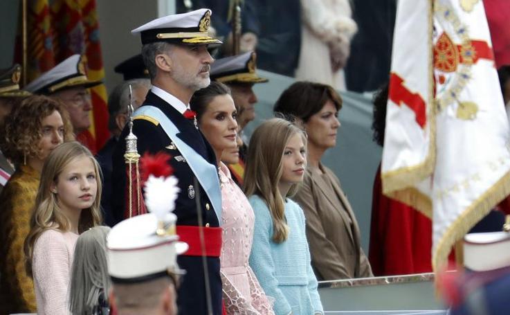 El desfile del Día de la Fiesta Nacional, en imágenes