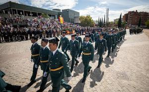 Un acto abierto a la ciudadanía conmemora el 175 aniversario de la Guardia Civil