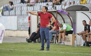 Alberto González: «Estoy contento con el potencial que tenemos arriba»