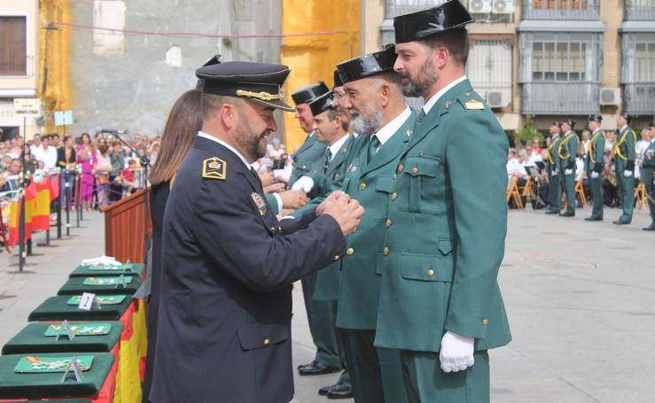 La Guardia Civil de Jaén celebra el 12 de octubre