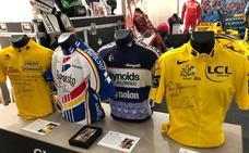 Llegan a Jaén el maillot de Induráin, el coche de Alonso, objetos de Nadal, Magic Johnson...