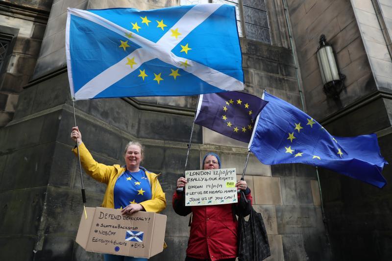 El independentismo escocés también juega el final de la partida